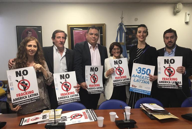 Latinoamérica se une en la lucha contra el fracking