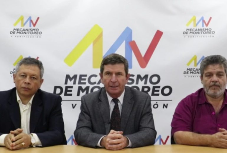 Mecanismo de Monitoreo y Verificación desmintió al gobernador de Antioquia