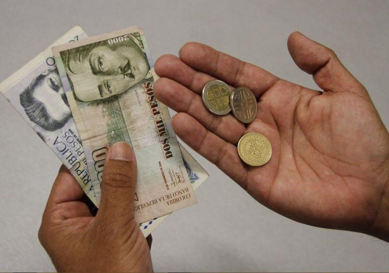 Salario mínimo, cada vez más mínimo en Colombia