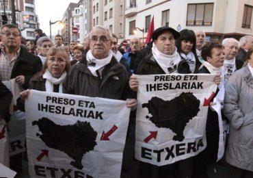 Más de 70 mil personas se movilizaron por los derechos de los presos políticos vascos