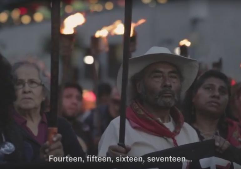 Documental acompaña la lucha de familiares en Ayotzinapa