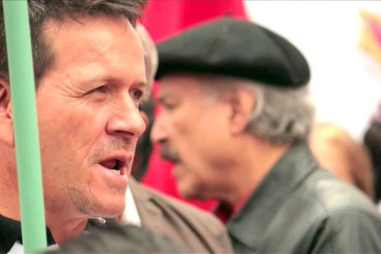 Amenazan de muerte a Huber Ballesteros líder de Marcha Patriótica