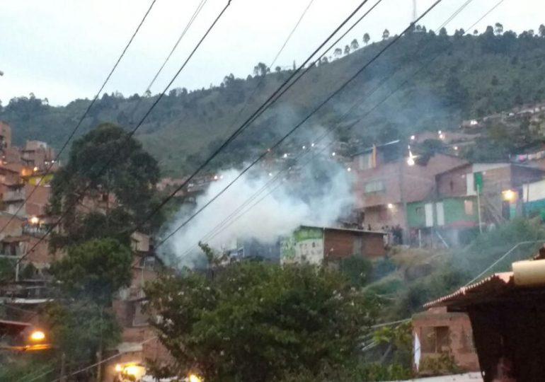 Violento desalojo de 170 familias por parte del ESMAD