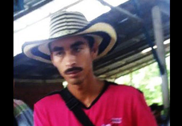 Asesinado dirigente de ASODECAS Jose Yimer Cartagena