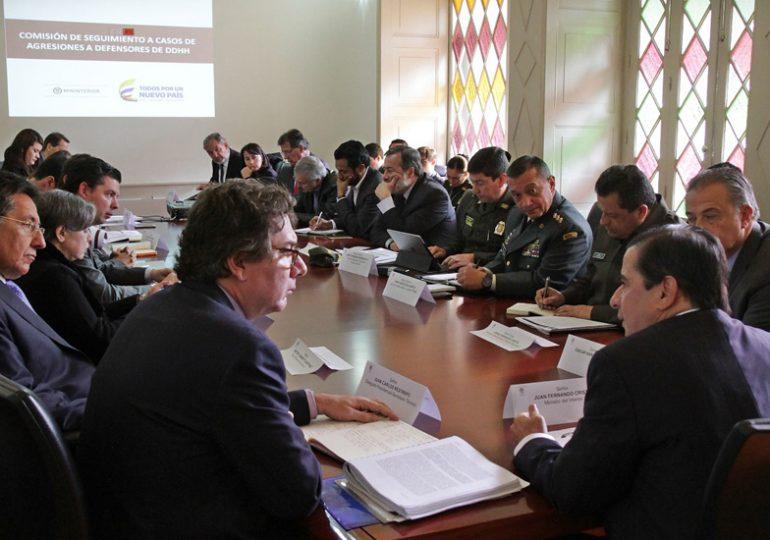 Se instala Comisión Nacional de Garantías de seguridad en el Cauca