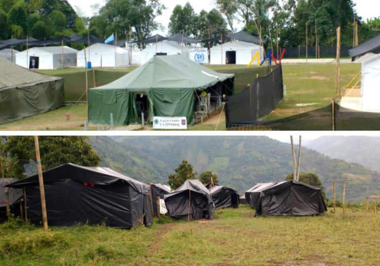 Monterredondo: Contraste entre comodidad militar y precariedad guerrillera