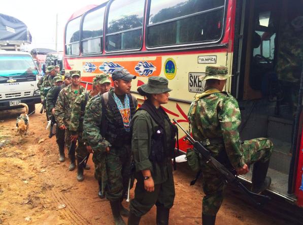 Frente 33 de las FARC llega a Caño Indio pese a amenaza paramilitar