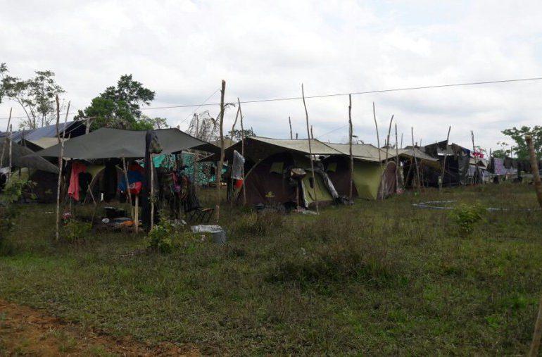 Denuncian condiciones indignantes en Zona Veredal de Puerto Asís