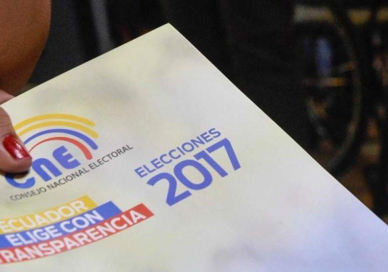 Ecuador en camino de elegir nuevo presidente