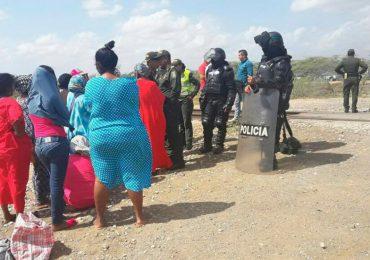 Robos, golpes e insultos de ESMAD a indígenas Wayúu en Guajira