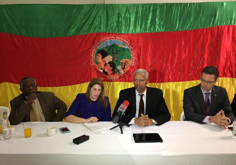 Delegación de EE.UU insta al Gobierno a cumplir capítulo étnico del acuerdo de paz