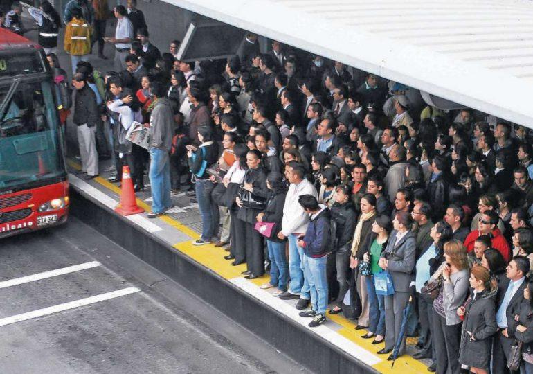 Aumento en transporte público en Bogotá el más alto en 8 años