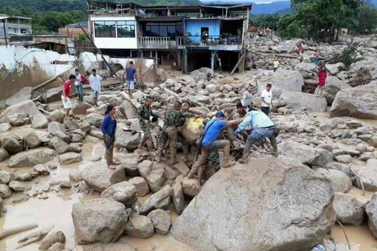Gobierno Nacional se olvidó de los damnificados en Mocoa