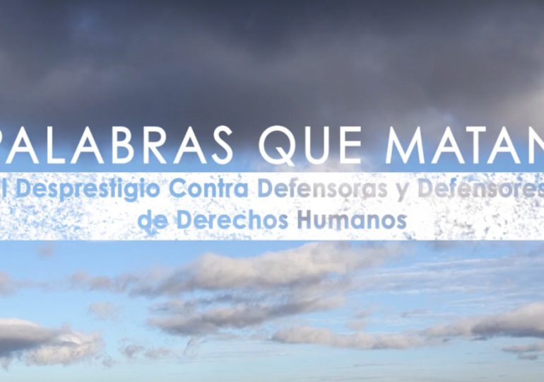 """Palabras que matan"" la serie documental sobre defensores de DD.HH. en Colombia"