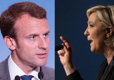 Macron y Le Pen llegarían al ballotage en elecciones Francesas
