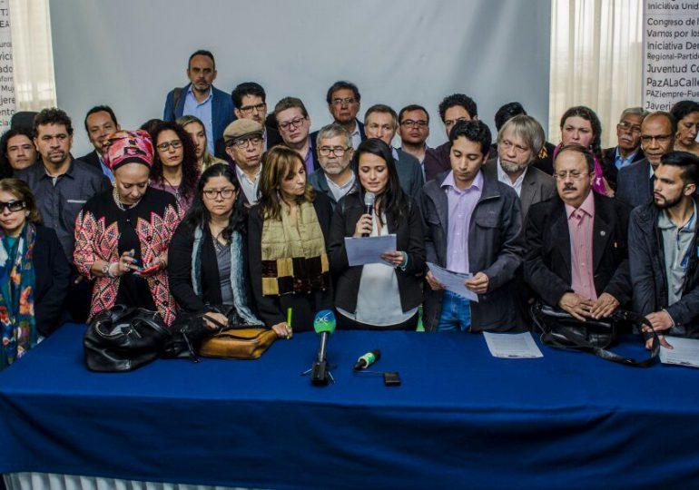 Se lanza el Congreso Nacional de Paz en Colombia