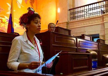 """""""Las víctimas dimos ejemplo de respeto y dignidad"""" Alejandra Gaviria"""