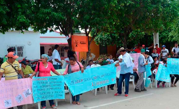 Fiscalía se niega a recibir denuncias por violaciones de DDHH en Sur de Bolívar