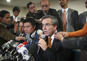 Diego Palacio a la Jurisdicción Especial para la Paz