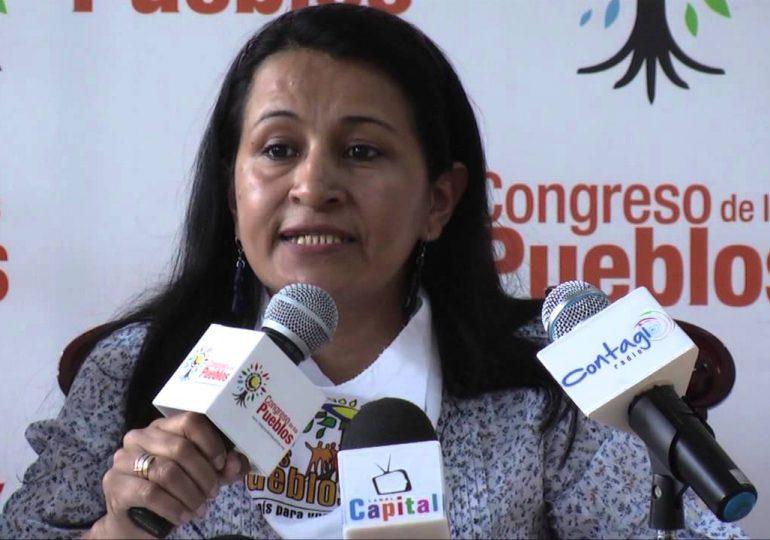 Armados torturan campesina para amenazar a lideresa del Congreso de los Pueblos
