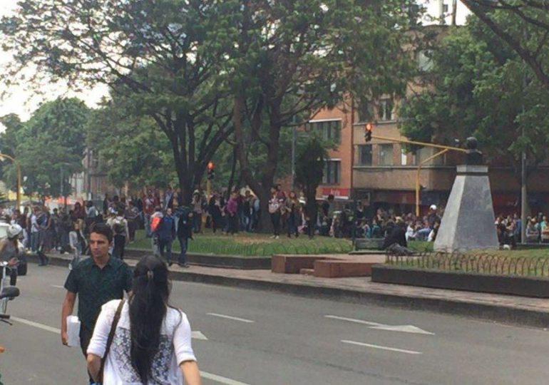 Detienen 6 estudiantes de la Universidad Pedagógica durante protestas