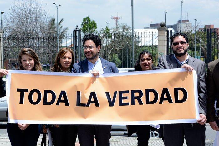 160 organizaciones y personas respaldan la constitucionalidad de la Comisión de la verdad
