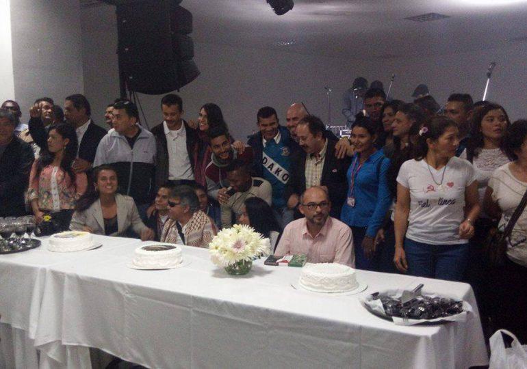 Así fue la conmemoración de los 53 años de las FARC-EP en Bogotá