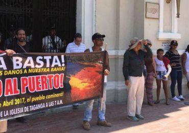 Habitantes de Taganga se oponen al Proyecto Sociedad Portuaria Las Américas
