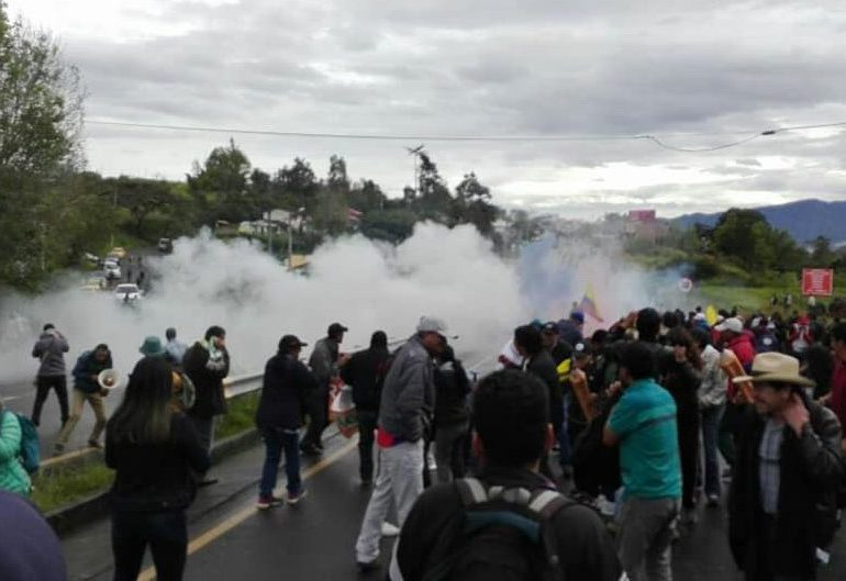 Fecode rechaza violencia del Esmad contra profesores en Nariño