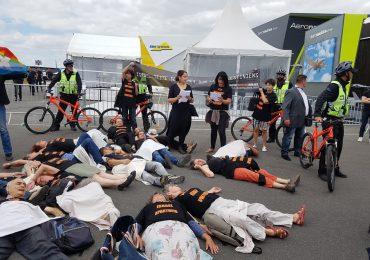 Activistas del BDS interrumpen participación de empresa israelí en Paris