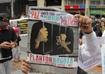 Más de 1400 presos políticos de las FARC continúan en huelga de hambre