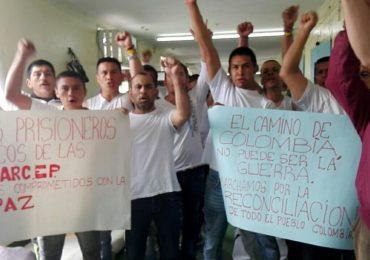 Estado sigue sin cumplir ley de amnistía a 22 días de huelga de hambre de presos políticos de las FARC
