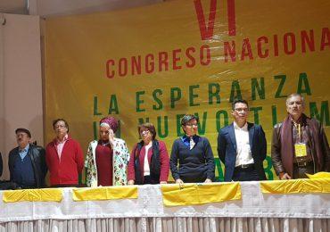 Se teje de nuevo la unidad de la izquierda en congreso de la Unión Patriótica