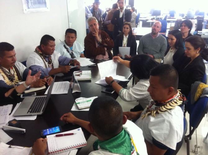 Se realizará la primera misión de verificación de DDHH del Pueblo Ziobain de Putumayo