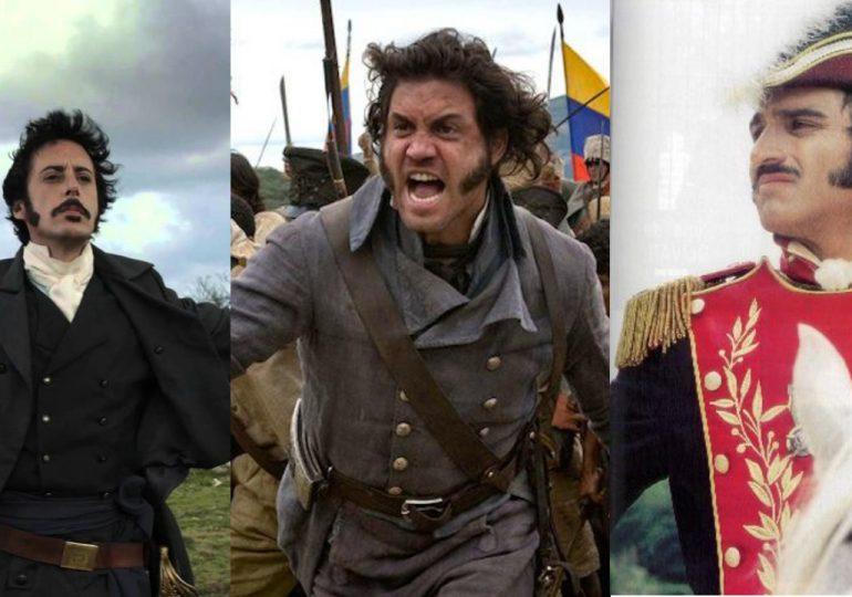 5 Rostros de Simón Bolívar en el cine