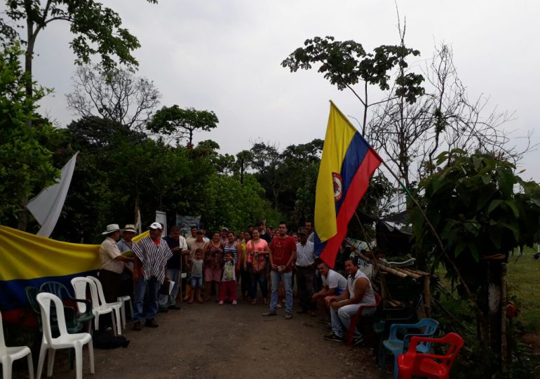 Fuerza Pública llegó a Guamal a defender intereses de Ecopetrol