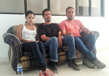 Abogado y periodista golpeados por ESMAD en protesta de Puerto Ayacucho, Cesar