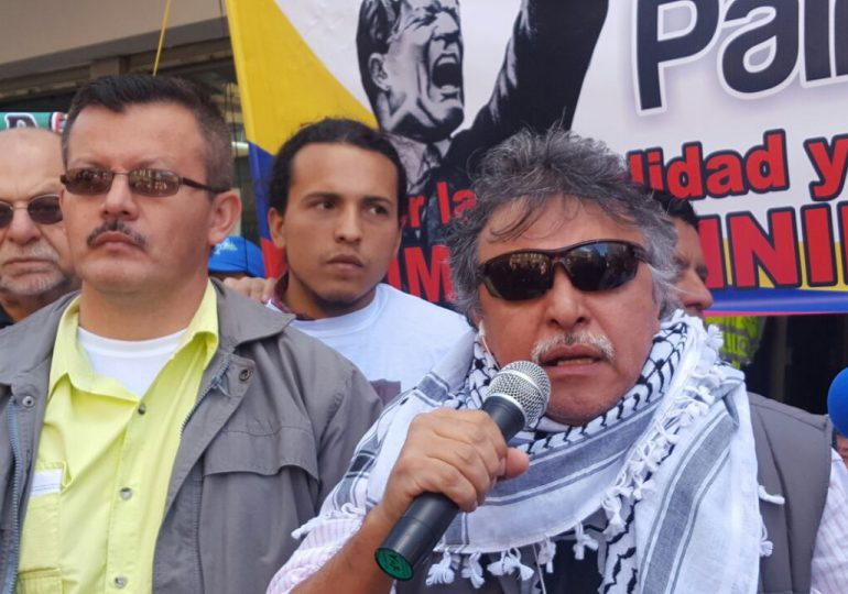 Piden a Jesús Santrich que abandone la huelga de hambre y siga trabajando por la paz