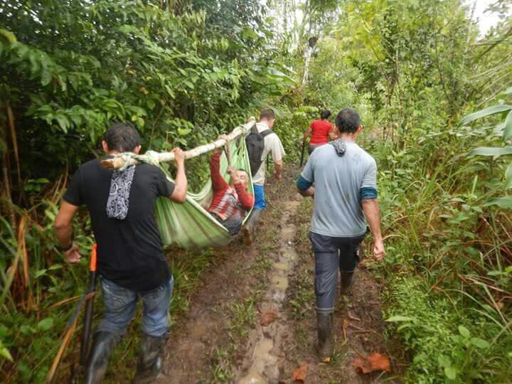 Campesino herido en protestas contra erradicación forzada en el Meta