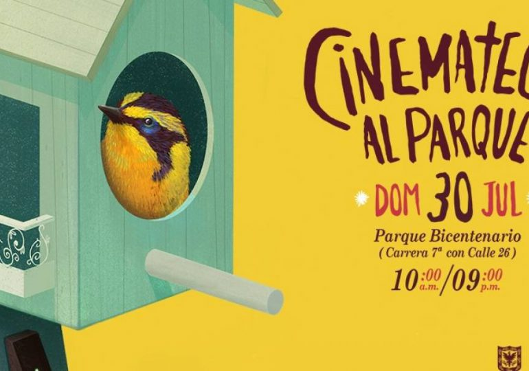Cinemateca al parque la Fiesta de la imágen