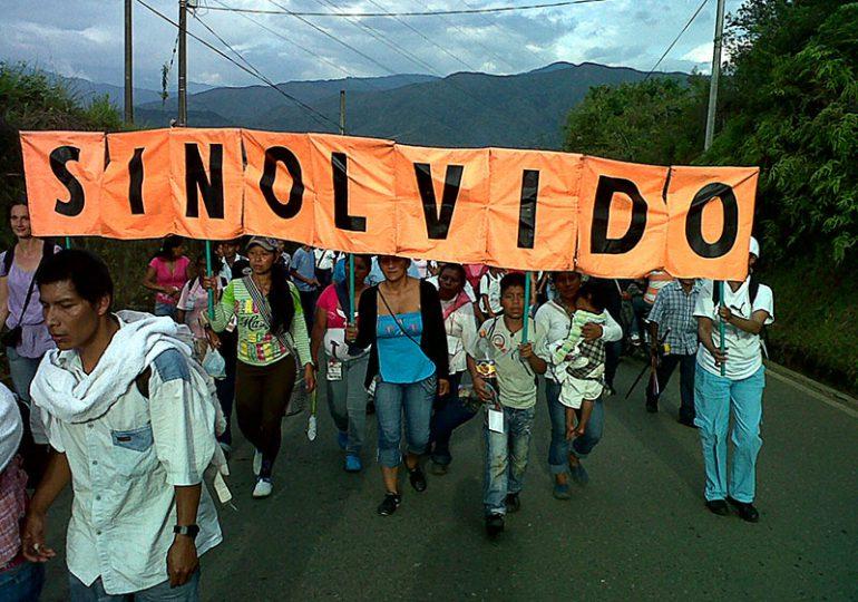 Víctimas de El Castillo, Meta caminarán 5 días contra el olvido y por la construcción de paz