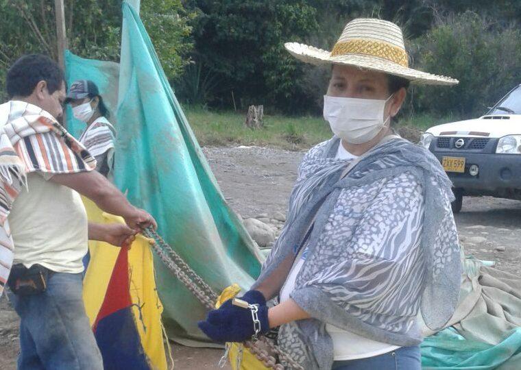 Policía sí habría agredido a mujeres en protesta contra Ecopetrol en Guamal, Meta