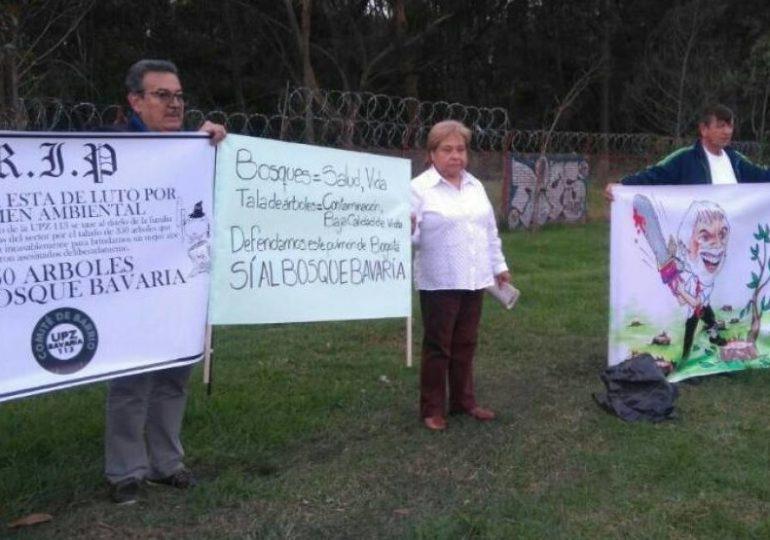 Nadie responde por los árboles 25 mil árboles que quiere talar Bavaria en Bogotá