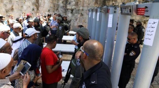 Empresa inglesa estaría detrás de la prohibición del ingreso de palestinos a mezquita en Jerusalén