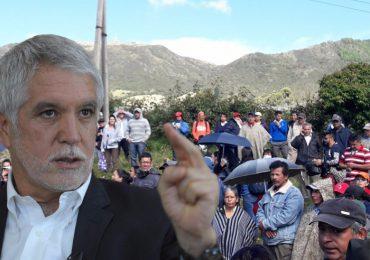 """""""Peñalosa no da la cara"""": Comunidades en el sur de Bogotá"""