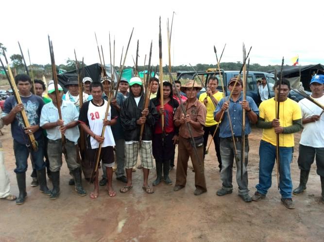 Comunidad indígena Sikuani en Vichada, denuncia permanente olvido estatal