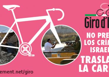 Polémica por inicio del Giro de Italia 2018 en Israel