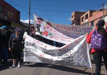 Balance del primer día de paro del Sur - Tunjuelo Bogotá