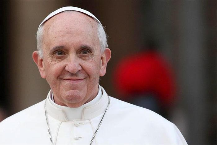 Animador regaño del Papa Francisco a obispos y cardenales