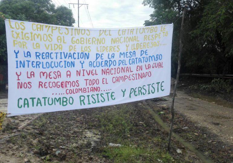 Campesinos alertan sobre inminente ataque del ESMAD en Catatumbo